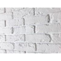 Декоративный кирпич Лофт (белый), 0.75 м2