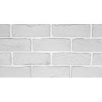 Декоративный кирпич Лофт (белый), м2
