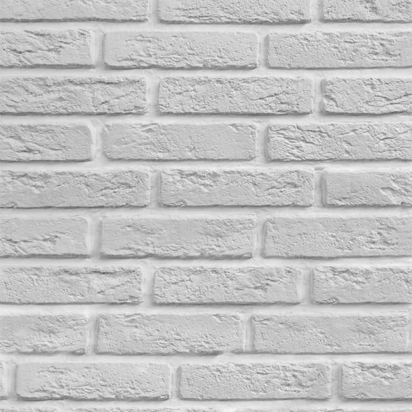 Декоративный кирпич Венеция (белый), 1.3 м2
