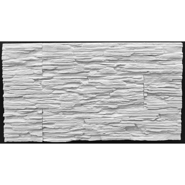 Сланец Выветренный (белый), 0.57 м2